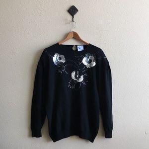 '80s / Sequin Sweater